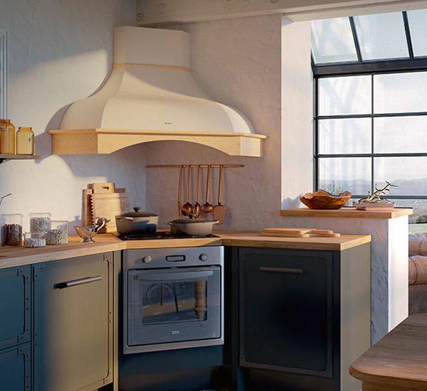 WEST ANGOLO - Traditsioonilise kujuga õhupuhastid kaasaegsetesse köökidesse