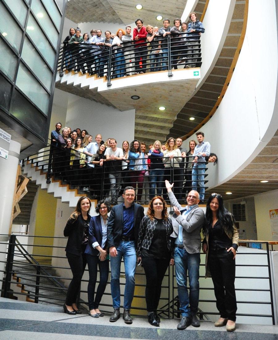 Faber and the students of politecnico di milano design the for Design di milano