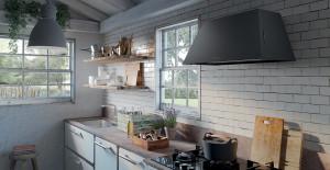 Choose a vintage cooker hood or steel cooker hood for a more contemporary design - Faber