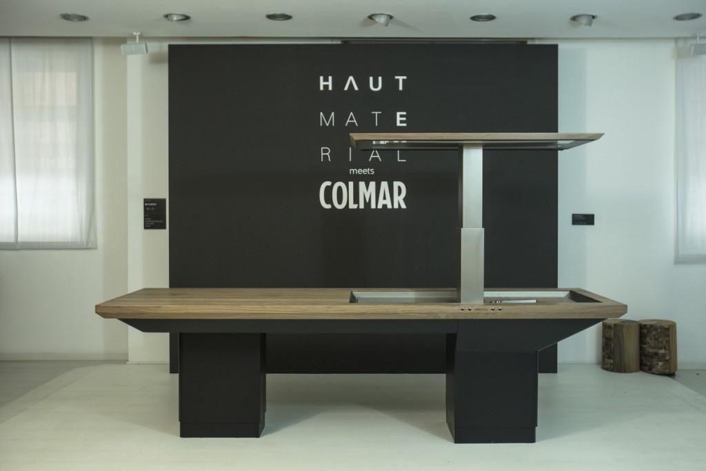 Milan Furniture Fair: Faber and Haute Material meet Colmar