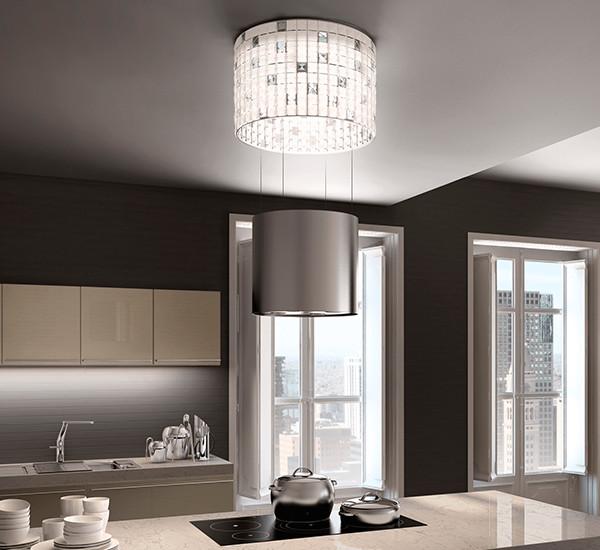 LUXIA - Luxury geometrics lighting up the kitchen