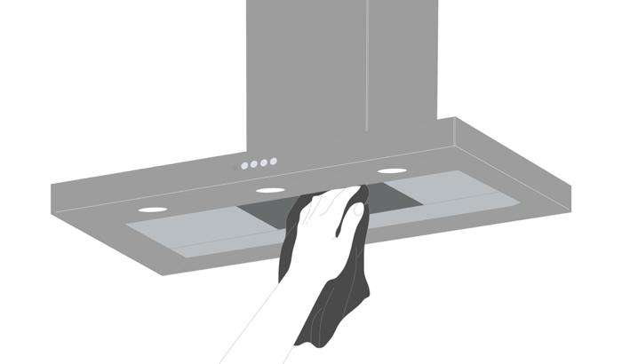 Uso e manutenzione: come pulire la cappa - Faber Spa