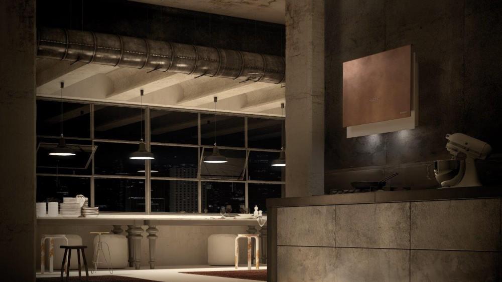 Salone del mobile: a Eurocucina Faber presenta Talìka, innovativa cappa verticale