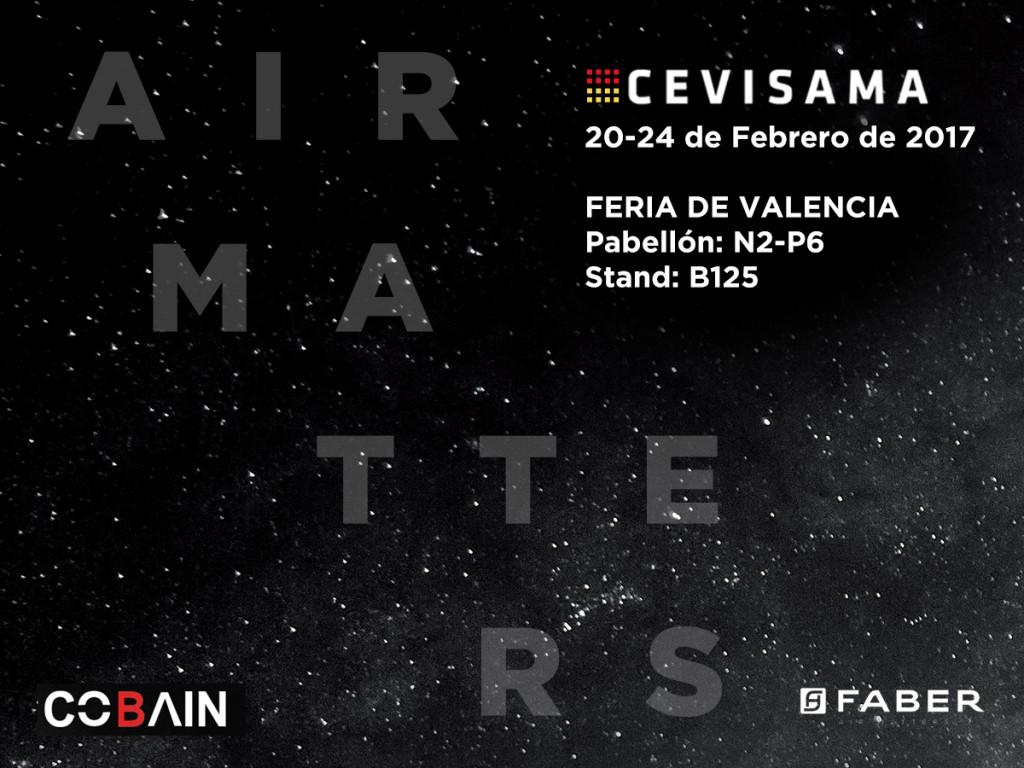 Faber protagonista della fiera del Cevisama: Dal 20 al 24 febbraio Valencia scopre gli Air Matters.