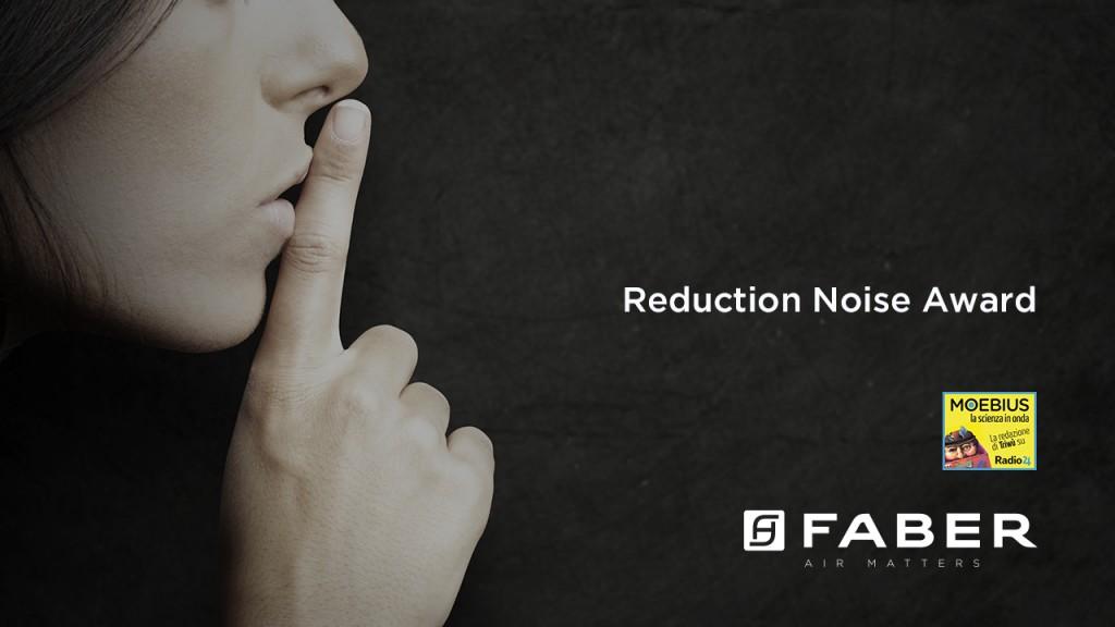 """Faber main sponsor del 1° """"Reduction of Noise Award"""": il concorso per creare un macinacaffè silenzioso"""