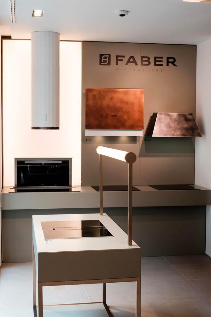 Faber e Franke aprono il primo showroom di Milano