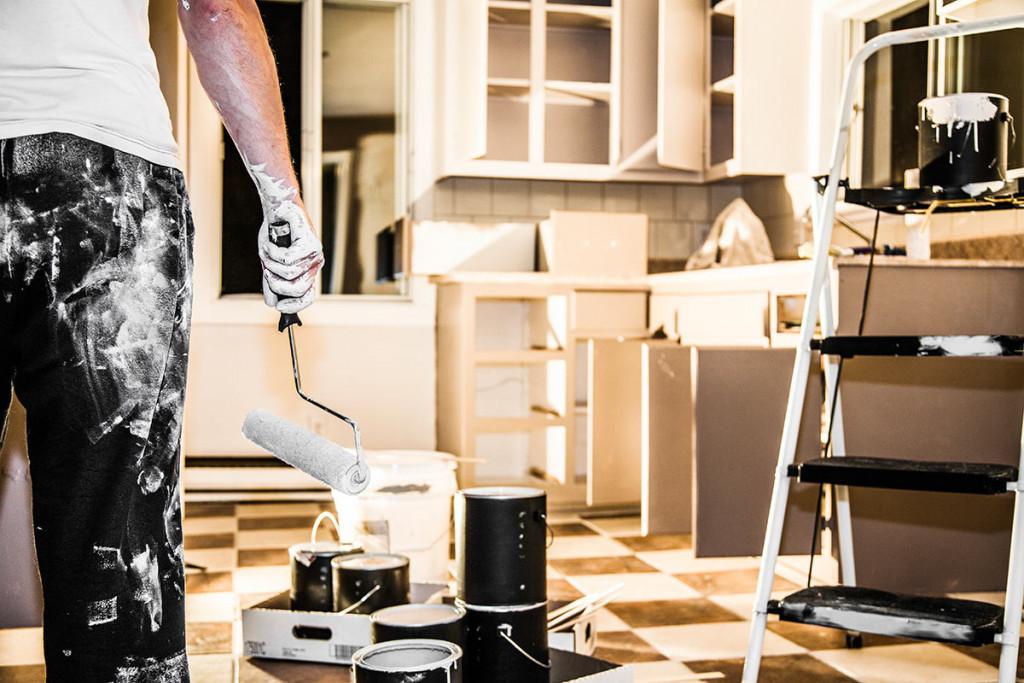 dipingere la cucina