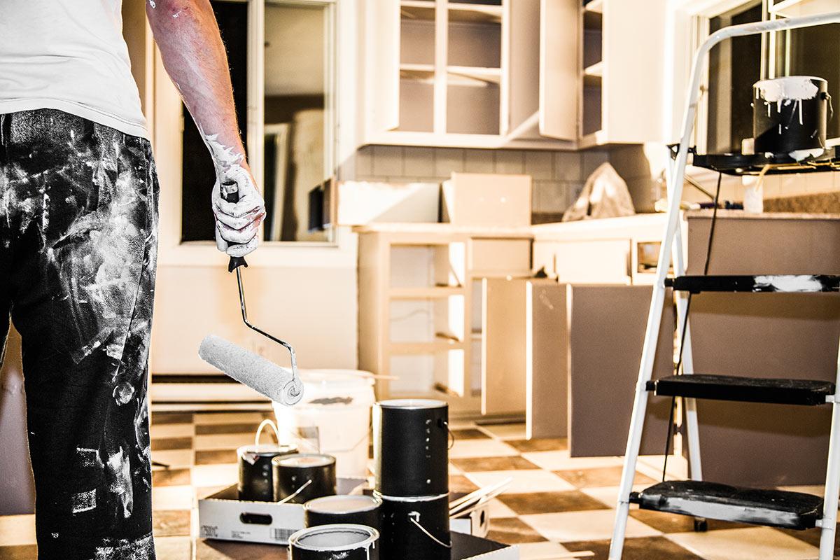 Dipingere le pareti della cucina: idee e consigli pratici - Faber