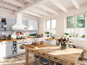 Cappe aspiranti: 4 idee d'arredo per la cucina classica