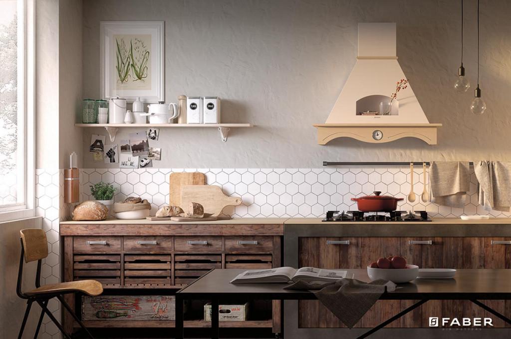 Cappe per cucine classiche gallery of cappe rustiche per cucine in muratura idea di casa with - Cucine faber prezzi ...