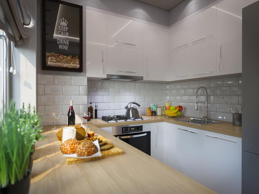 Arredare una cucina piccola: idee per averla bella e funzionale - Faber
