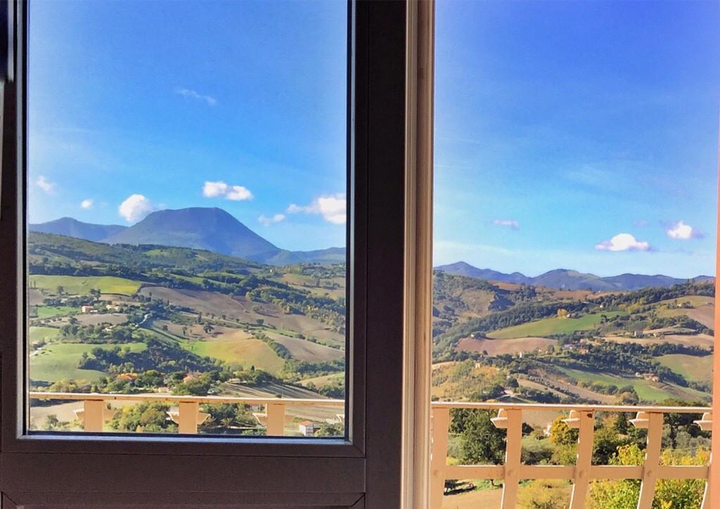 veduta finestra staffolo Giorgia Barchi - Faber