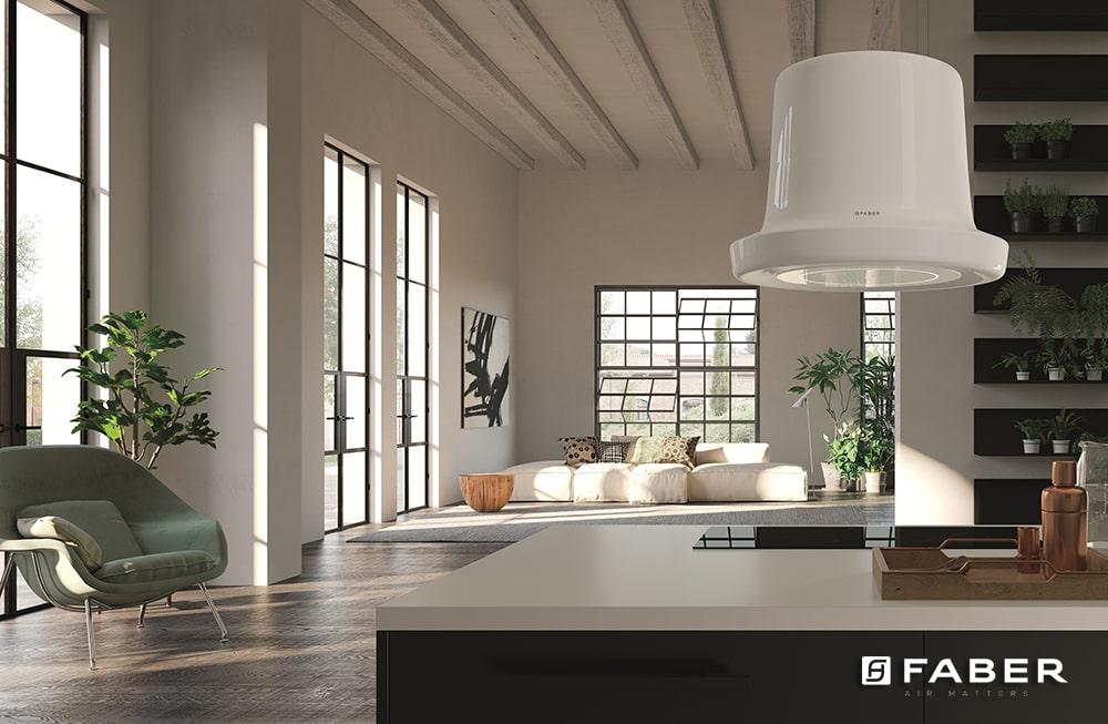 Come arredare un open space con soggiorno e cucina - Faber