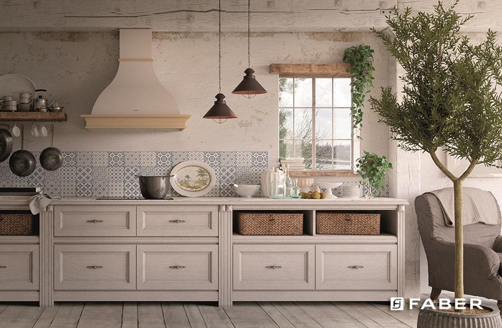 Arredare una Cucina in stile provenzale senza tempo - Faber