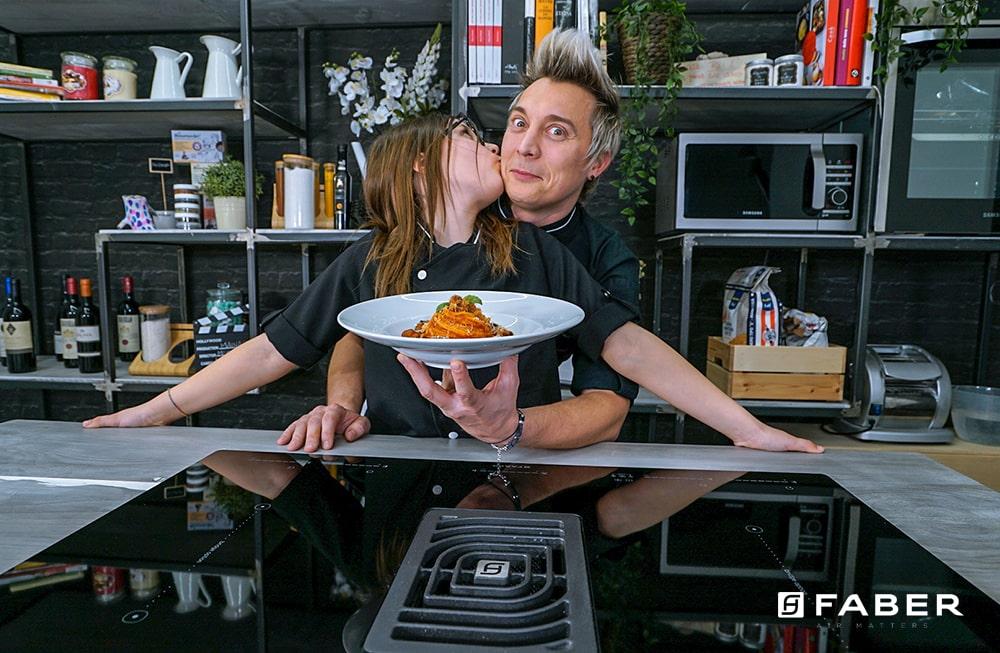 La ricetta per preparare gli Spaghetti risottati di Andrea Mainardi - Faber