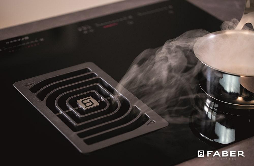 La cappa: l'alleato numero uno per il ricambio d'aria in cucina - Faber