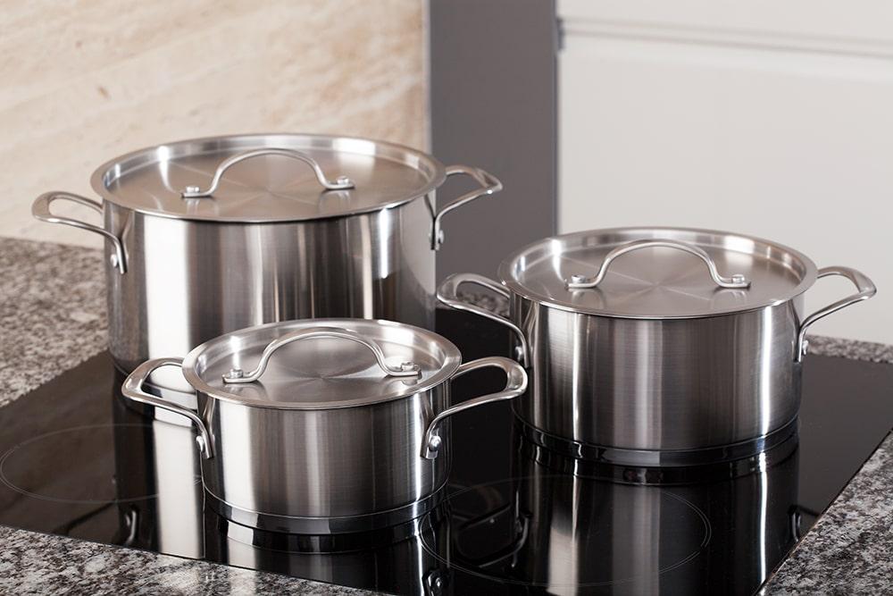 Padelle e pentole per induzione come sceglierle e riconoscerle faber - Pentole per cucine a induzione ...