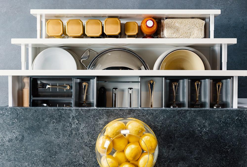 Come usare l'ergonomia in cucina per progettarla - Faber