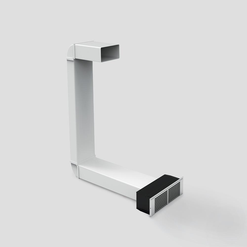kit installazione galileo filtrante 100 mm altezza zoccolo - Kit installazione Galileo filtrante 100 mm