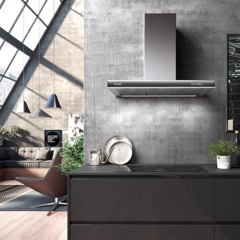 Cappe Aspiranti e Cappe Filtranti per Cucina - Faber SpA
