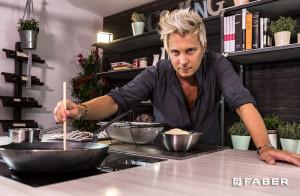 Risotto con asparagi e taleggio - Le ricette di Andrea Mainardi - Faber