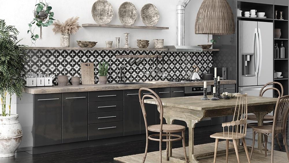 Arredare la cucina in stile etnico - Faber