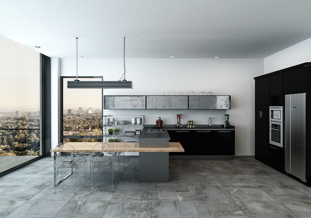 Arredare una cucina a urban chic: soluzioni e trucchi - Faber