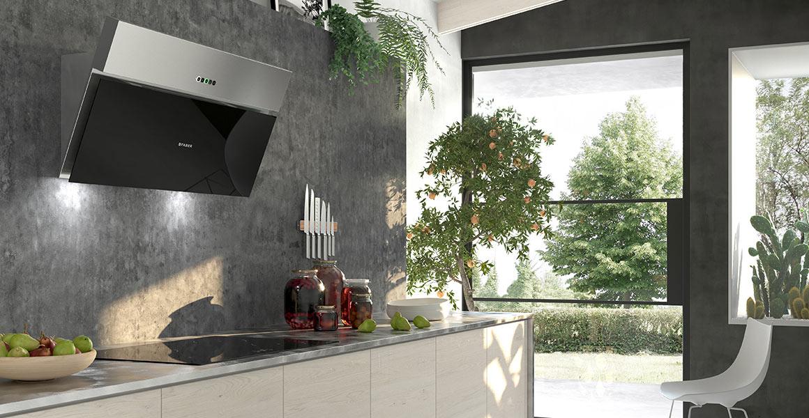 Faber ONYX-V Cooker Hood Wall