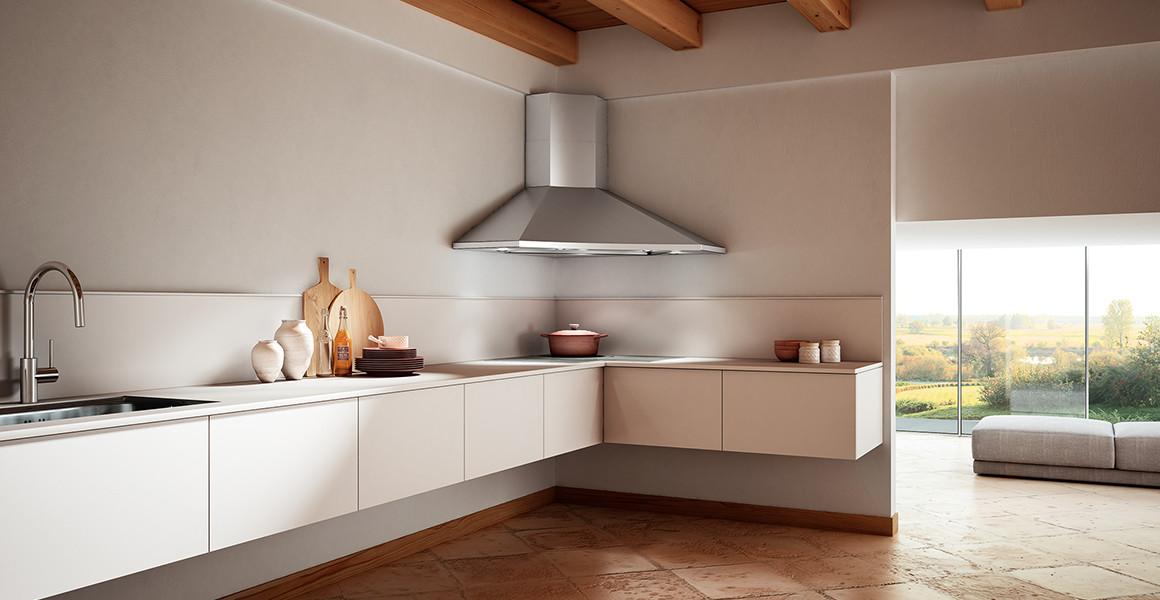 Faber SOLARIS Cooker Hood Corner