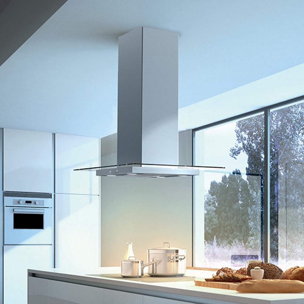 GLASSY ISOLA/SP  Versione: Acciaio inox / vetro