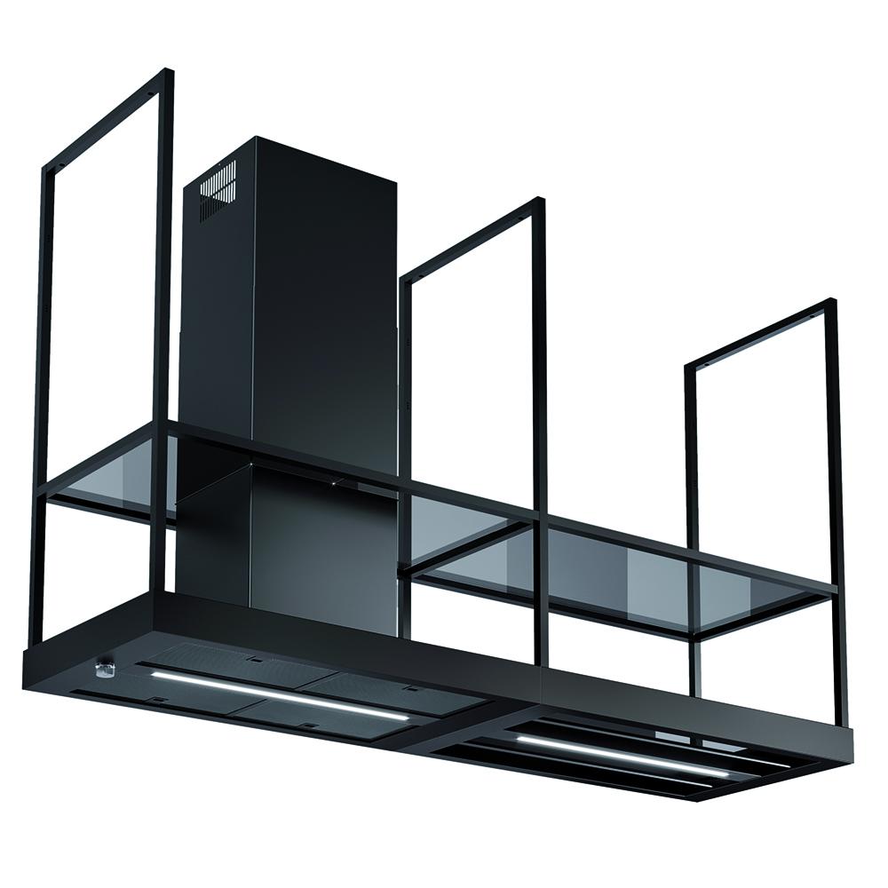 T-shelf  Versione: Nero opaco