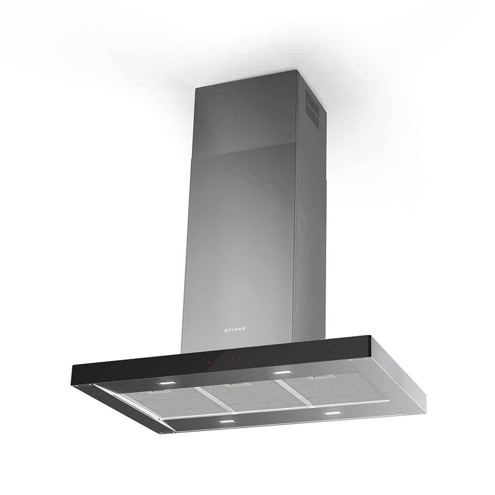 STILO GLASS SMART ISOLA  Versione: Acciaio inox / vetro
