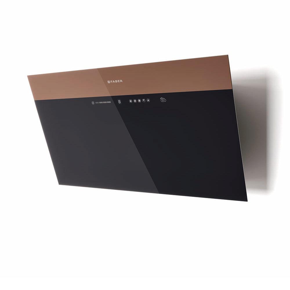 V-AIR  Versione: Vetro nero/marrone
